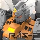 RODAMS 1/72 RX=78 GP03 RAS-30 ORANGE