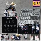RG Nu Rx 93 Gundam Metal and Detail Upgrade parts