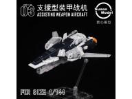 Susan Model RG 1/144 ASSISTING WEAPON AIRCRAFT FOR NU GUNDAM