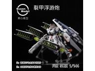 Susan Model 6 FINS + EFFECT PART FOR RG NU GUNDAM