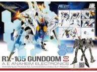 MODEL COMPREHEND 1/144 HG Kexi RX 105  Gundoom Gundam  Model kit  MC柯西 GMC007