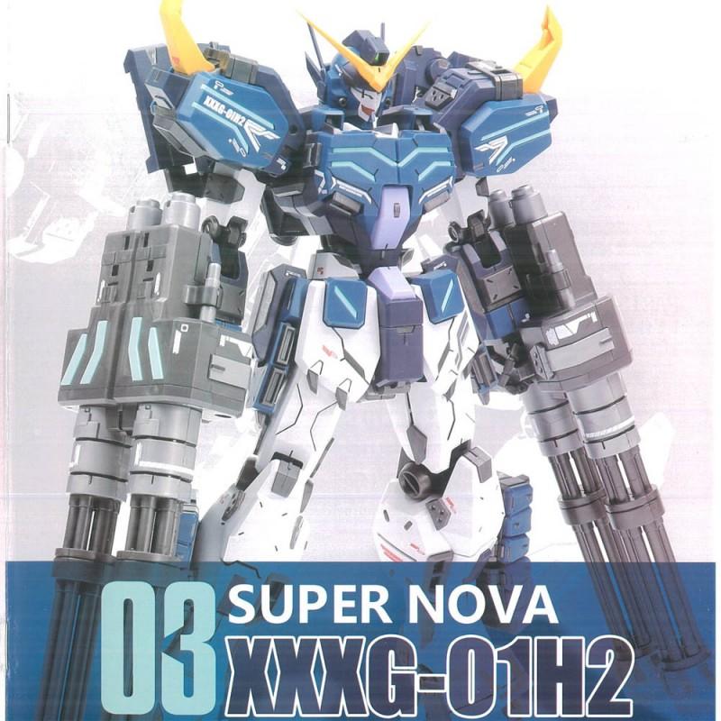 Super Nova MG 1//100 Heavy Arms XXXG-01H2 Mo Kai Gundam Model Kit New